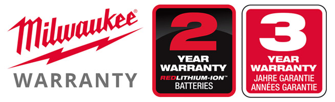 Milwaukee Power Tools - 3 Year Extended Warranty