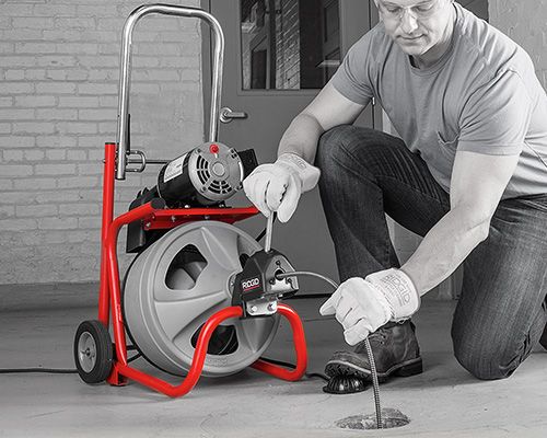 Ridgid Drain Cleaning Tools