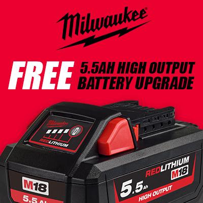 5.5Ah High Output Battery Upgrade