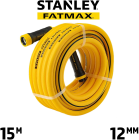 STANLEY FATMAX 15m x 12mm Professional Grade Garden Hose with Quick Connector