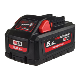 Milwaukee M18HB5.5 M18 5.5Ah REDLITHIUM-ION High Output Battery