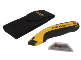 Stanley FatMax Retractable Utility Knife + Holster & Blades