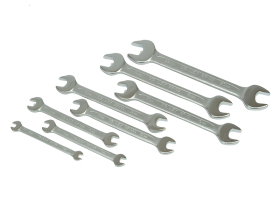 Stanley Open End Spanner Set of 8 Piece Set Metric 6 to 21mm