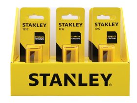 Stanley Display Of 18 x Blade Dispensers