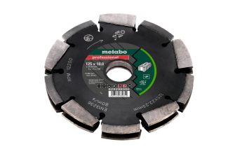 Metabo 628298000 Dia-CD2 125mm 2R Professional UP Universal Wall Chaser Blade for MFE40