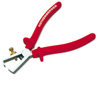 "Rothenberger 6.5"" Wire Stripping Pliers -  6.5in"