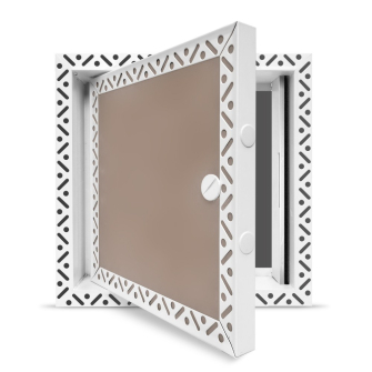 Fire Rated Metal - Plasterboard Access Panel-Plasterboard 300 x 300 mm