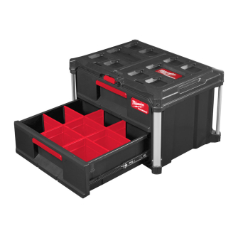 Milwaukee PACKOUT 2 Drawer Tool Box - 4932472129