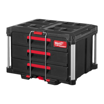 Milwaukee PACKOUT 3 Drawer Tool Box - 4932472130