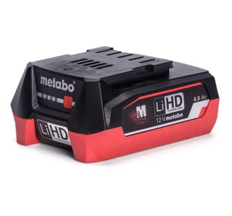 Metabo 625349000 LiHD 12V 4.0Ah Battery