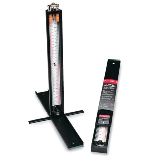 "Rothenberger 12"" Stand Up U-Gauge Manometer - Tube Type Plastic"