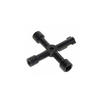 Silverline - 4 Way Utility Key for Meter Boxes - HMS134