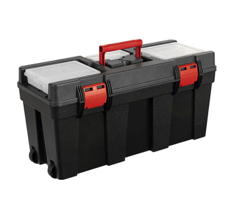 Sealey AP528 Toolbox 650mm with Tote Tray & Wheels - Tool Storage