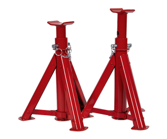 Sealey AS3000F Axle Stands (Pair) 3tonne Capacity per Stand Folding - High Lift & Specialist
