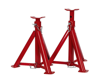 Sealey AS6000F Axle Stands (Pair) 6tonne Capacity per Stand Folding - High Lift & Specialist