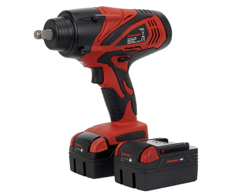 """Sealey CP3005 Cordless Lithium-ion Impact Wrench 18V 4Ah 1/2in Sq Drive 650Nm - 2 Batteries - 1/2""""Sq Drive Cordless"""