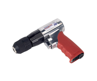 Sealey GSA241 10mm Reversible Air Drill with Keyless Chuck - Pistol