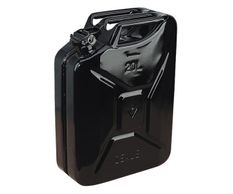 Sealey JC20B Jerry Can 20ltr - Black - Fuel Cans
