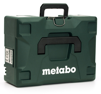 Metabo W18LTX125 Angle Grinder MetaLoc II Tool Case with Inserts - 626431000 - W18LTX125-CASE