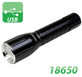 MyTorch 18650 Rechargeable Professional LED Torch - 18650
