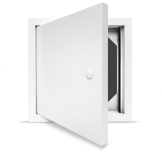 Non Fire Rated Metal Access Panel - Standard Lock - Picture Frame - 600 x 600mm