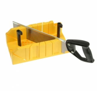 Stanley Clamping Mitre Boxes - Mitre Box and Saw