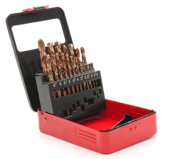 Sealey Cobalt Drill Bit Set 19pc Metric - AK4701 - Drill Bits & Sets