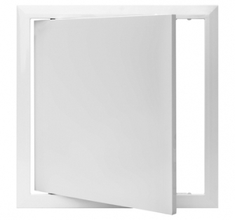 Value Hinged Plastic Access Panel - 100 x 100 mm