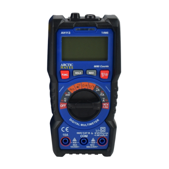 Arctic Hayes Compact Digital Multimeter with Temp Function