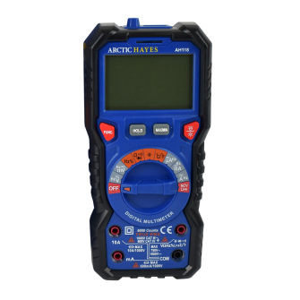 Arctic Hayes Professional Digital Multimeter with Temp Function