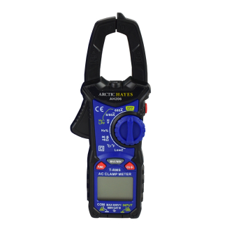 Arctic Hayes Digital Clamp Meter with Temp Function