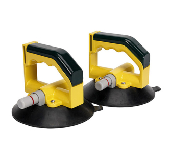 Sealey AK98943 Vacuum Suction Cup 150mm - Pair - Windscreen Tools