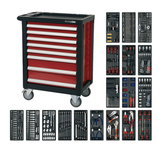 Sealey AP2408TTC08 Rollcab 8 Drawer with Ball Bearing Runners & 7