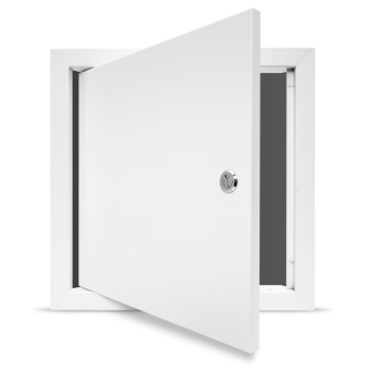 Value Metal Access Panel - Slotted Lock - Picture Frame