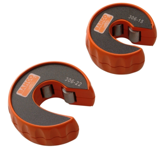 Bahco BAH306PACK Pipe Slice Twin Pack 15mm - 22mm - 306-PACK