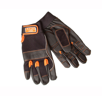 Bahco Power Tool Padded Palm Gloves