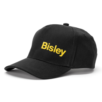 Bisley Workwear Peaked Cap One Size - Black