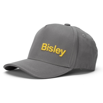 Bisley Workwear Peaked Cap One Size - Charcoal