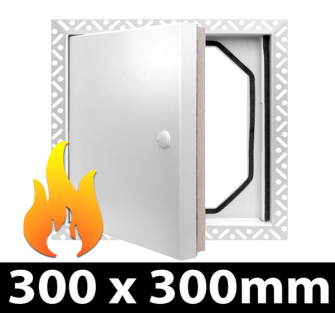 Fire Rated Access Panel - 300x300mm BF - 20 Panel Pack