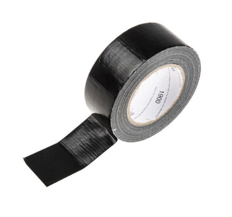 50mm x 50m Duct Tape - Black