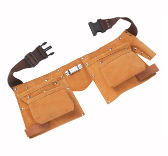 BlueSpot Tools Double Leather Tool Pouch - Regular - Pouch Toolle
