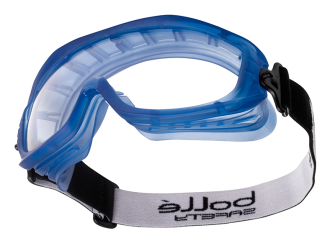 Bolle Atom Safety Goggles Clear - Ventilated - Safety Goggle