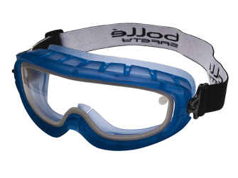 Bolle Atom Safety Goggles Clear - Sealed - Safety Goggle