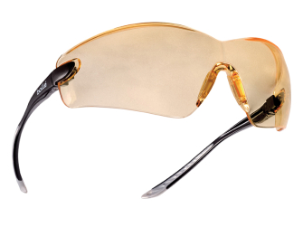Bolle Cobra Safety Glasses - Yellow - Safety Glasses