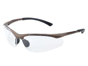 Bolle Contour Safety Glasses - Clear - Safety Glasses