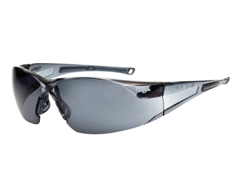 Bolle Rush Safety Glasses - Smoke - Safety Glasses