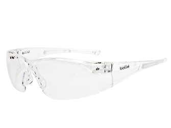 Bolle Rush Safety Glasses - Clear - Safety Glasses