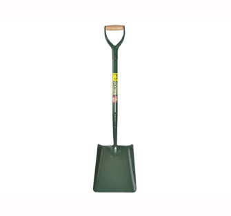 Bulldog All Steel Square Shovel No.2 5SM2AM - Square Shovel