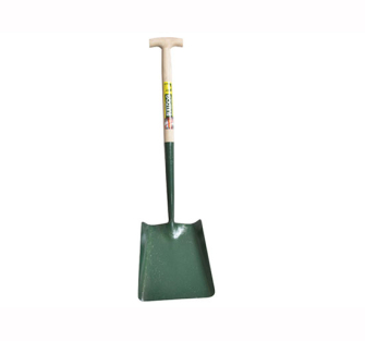 Bulldog Solid Socket No.2 Square Shovel 5SM2T - Square Shovel