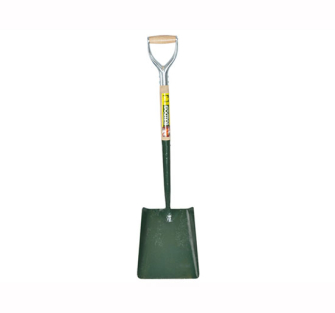 Bulldog Solid Socket Square No.2 MYD Shovel 5SM2MYD - Square Shov